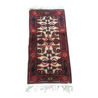 "Vintage Moroccan Rug - 2'2"" x 4'9"" For Sale"