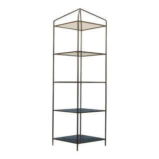 Hollywood Regency Period Open Display Case/ Etagere For Sale