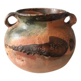 Painted Clay Pot For Sale