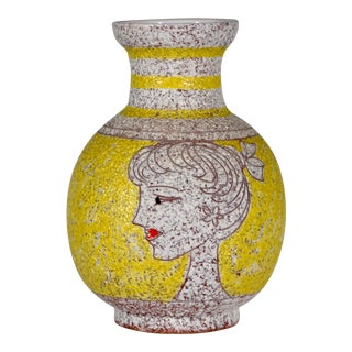 1960s Vintage Italian Fratelli Fanciullacci Vase For Sale