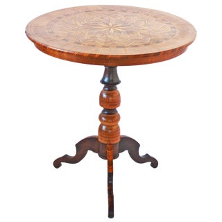 19th Century Italian Occasional Table For Sale
