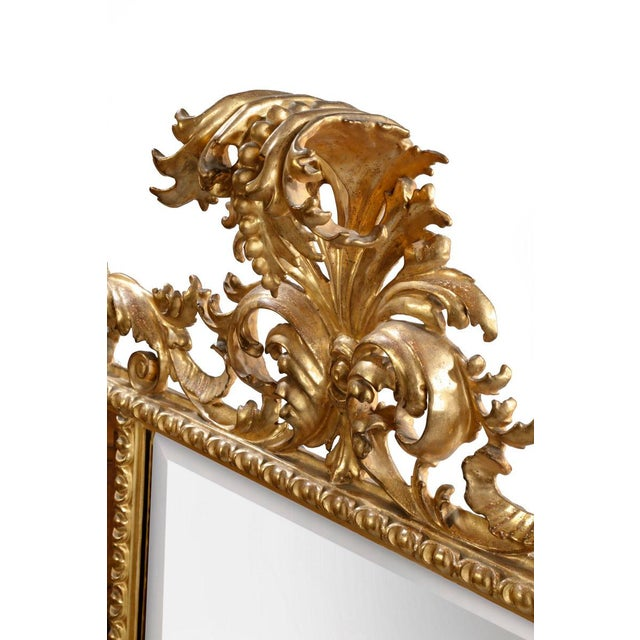 Italian Carved Mirror - Image 4 of 5