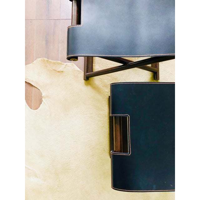 Christian Liaigre Bazane Stool for Holly Hunt (30 Available) For Sale - Image 9 of 12