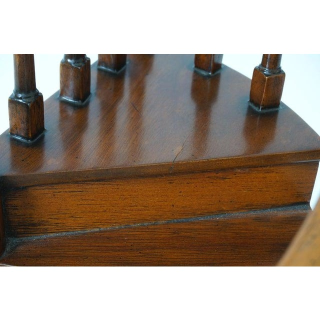 Vintage Spiral Staircase Architectural Model in Mahogany For Sale - Image 10 of 12