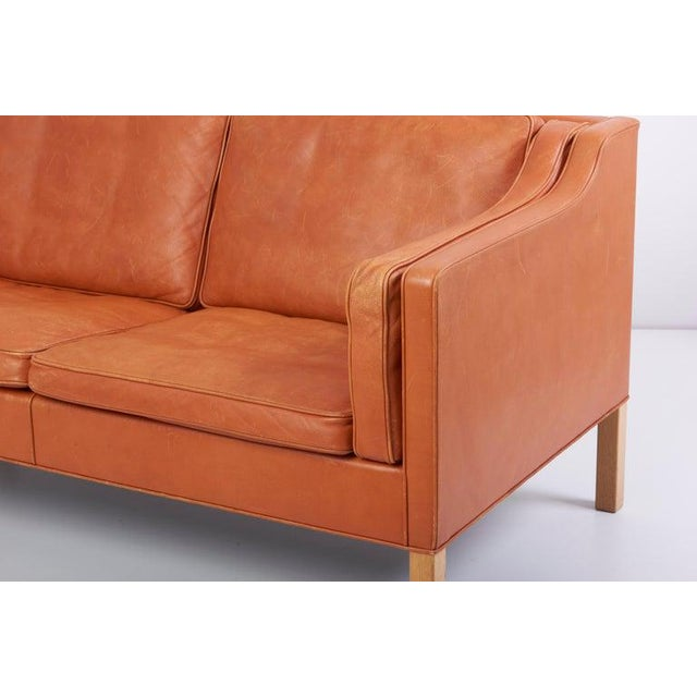 Wood Sofa 2212 by Børge Mogensen for Fredericia, Denmark For Sale - Image 7 of 10