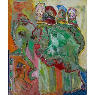 Wyona Diskin, Elephant Painting For Sale