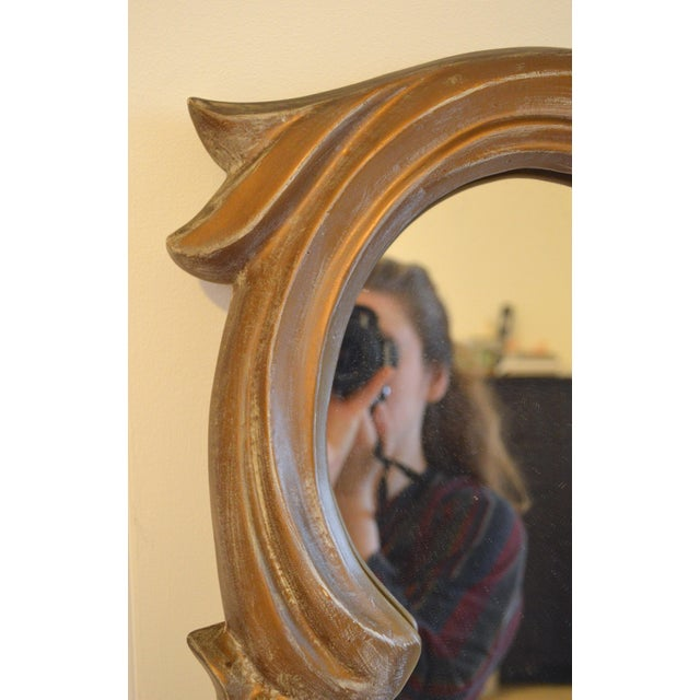 Gilt Plaster Mirror in the Style of Serge Roche - Image 8 of 8