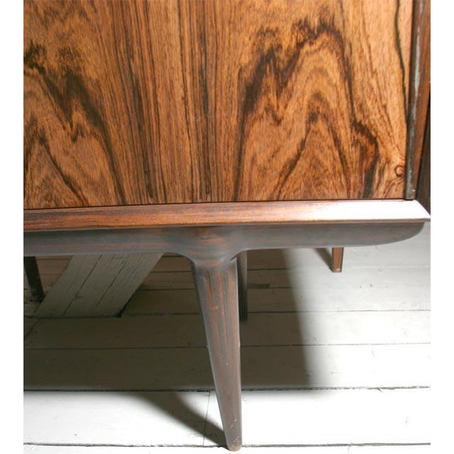 Rosewood Danish Modern Rosewood Credenza For Sale - Image 7 of 7