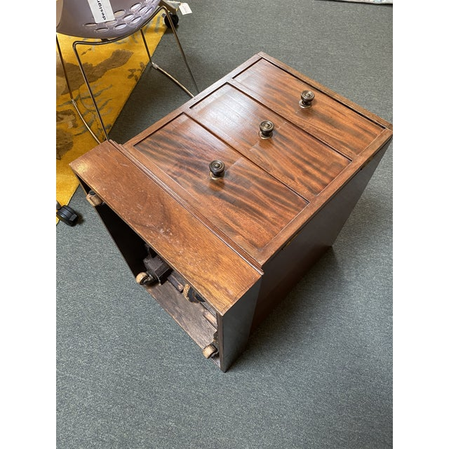 Early 20th Century English Colonial Three Piece Desk For Sale - Image 12 of 13