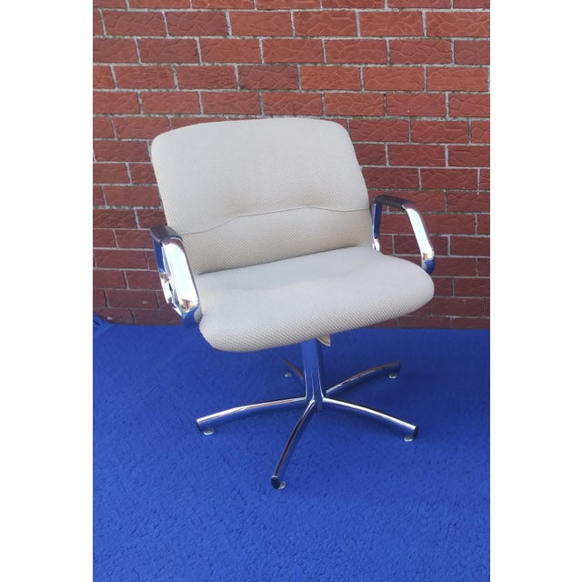 1980's Vintage Steelcase Chair For Sale - Image 10 of 12
