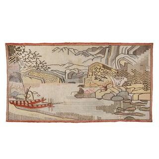 *Pictorial Khotan Samarkand Rug