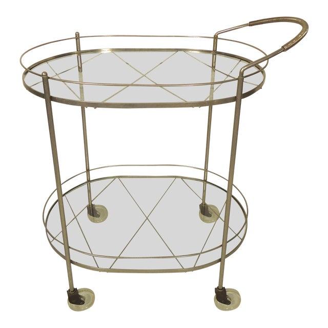 Italian Mid Century Style Tea Cart For Sale