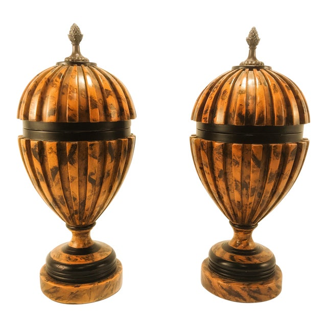 Theodore Alexander Urns - A Pair - Image 1 of 8
