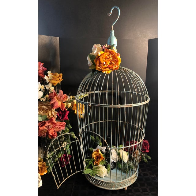 Vintage Wire Bird Cage For Sale In Phoenix - Image 6 of 10