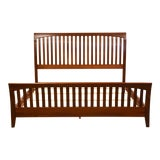 Image of Ethan Allen American Impressions Cherry King Bed For Sale