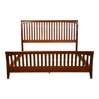 Ethan Allen American Impressions Cherry King Bed For Sale