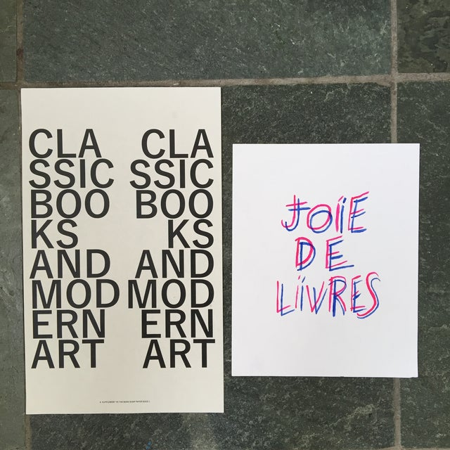 """Joie De Livres"" Modern Print For Sale - Image 5 of 5"