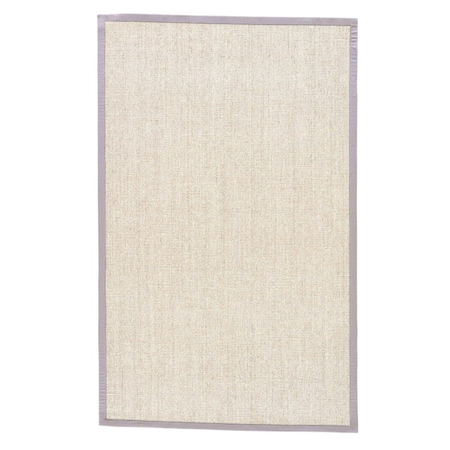 Jaipur Living Palm Beach Natural Bordered Beige & Gray Area Rug - 8' X 10' For Sale In Atlanta - Image 6 of 6
