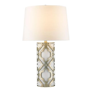 Arabella Silver Table Lamp For Sale