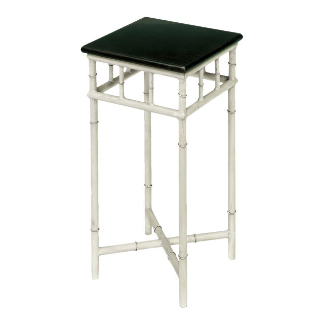 Sarreid LTD Metal & Marble Side Table For Sale