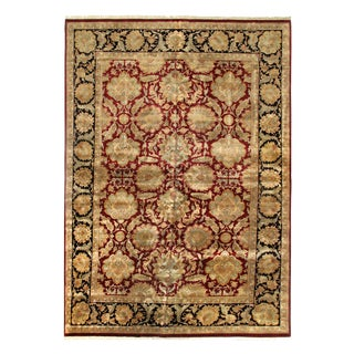 """Pasargad Indo Agra New Zealand Wool Rug - 12′4"""" ×18′ For Sale"""