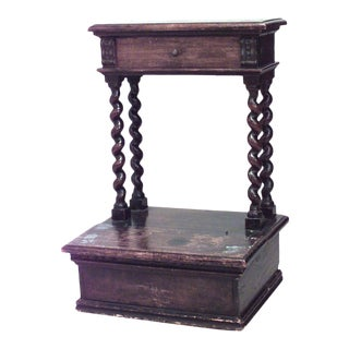 English Jacobean Walnut Prie-dieu For Sale