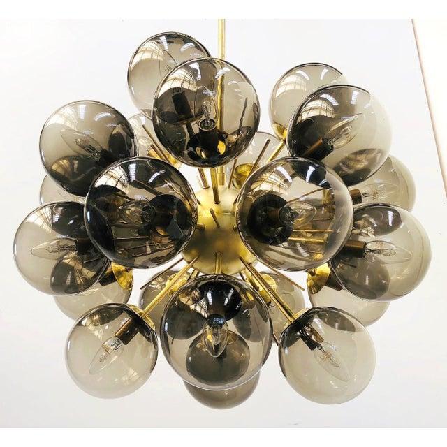 Metal Ventiquattro Sputnik Chandelier by Fabio Ltd For Sale - Image 7 of 12