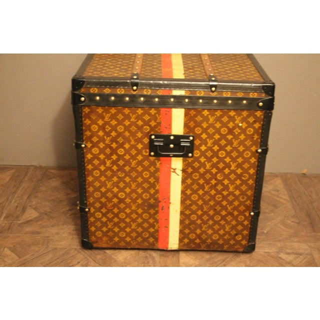 Louis Vuitton Cube Steamer Trunk For Sale - Image 12 of 13
