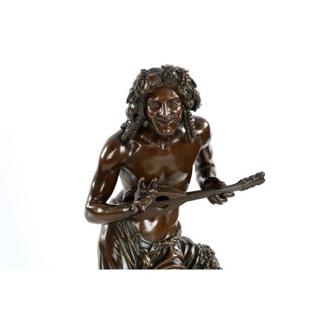 "François-Joseph Duret ""Improvisateur"" Bronze Sculpture - Image 2 of 10"