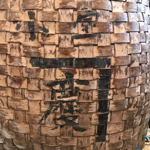 Antique Chinese Basket - Image 5 of 9