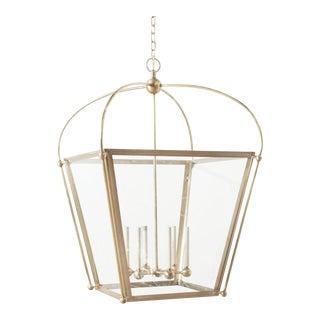 Modern Brass Paul Lantern For Sale
