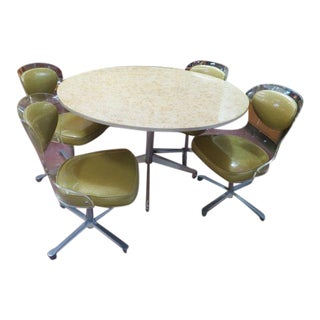 Vintage Mid Century Modern Lucite Dining Set - 5 Pieces For Sale