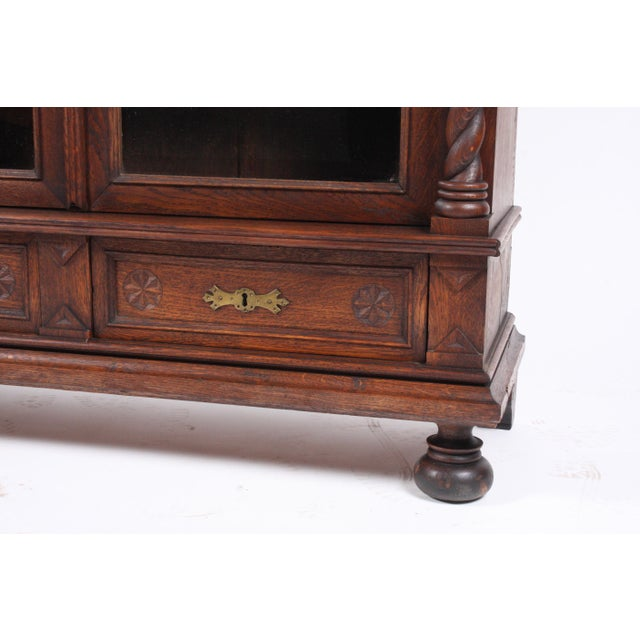 19th-Century Black Forest German Cabinet - Image 7 of 11