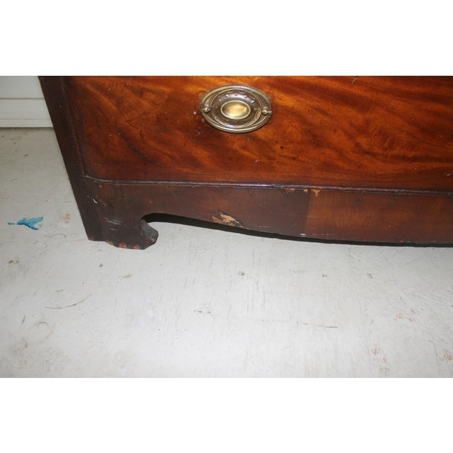 Metal 18th Century English Mahogany Dresser For Sale - Image 7 of 11