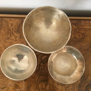 Sterling Modernist Chalices, Set of 3 Preview