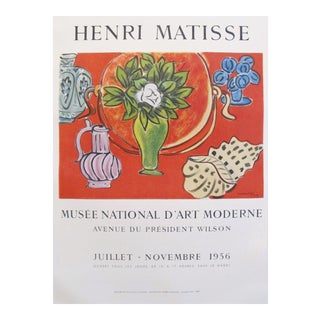 Original Matisse Exhibition Poster, 1956 Musée National d'art moderne