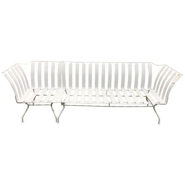 1960s Mid-Century Garden Sofa and Chair Set - 2 Pc. Set For Sale - Image 5 of 5