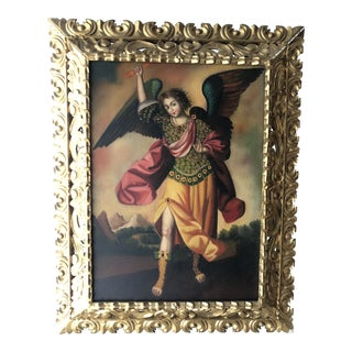 Cuzco School Angel Painting For Sale