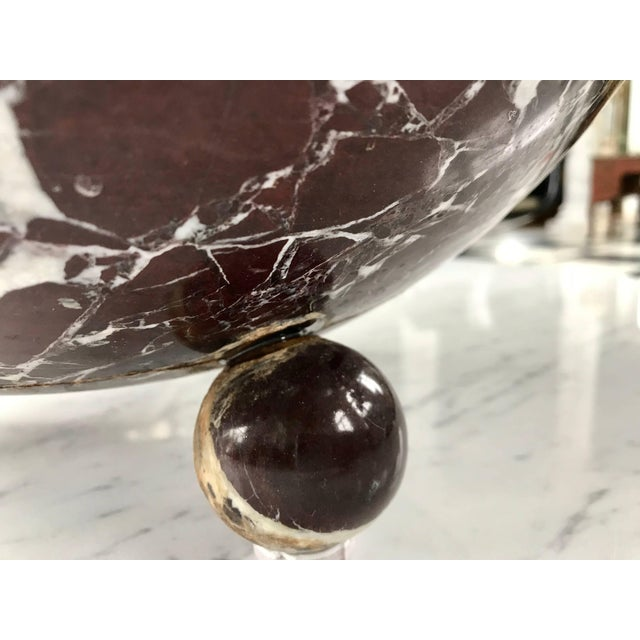 This gorgeous centrepiece bowl is carved out of the rare Rossa Levanto Marble. The simple Art Deco style bowl is supported...