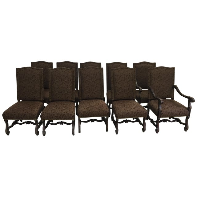 Dining Chairs by A. Rudin - Set of 10 - Image 1 of 9