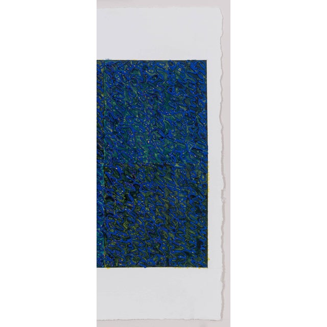 Contemporary Louise P. Sloane Blues 3 2017 For Sale - Image 3 of 4