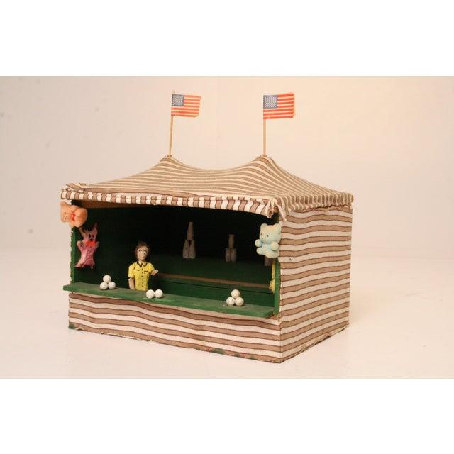 Antique Folk Art Carnival Model - Image 3 of 11