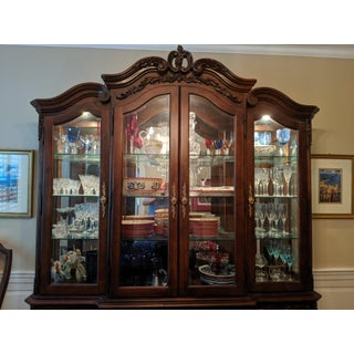 American Drew China Cabinet & Base Preview