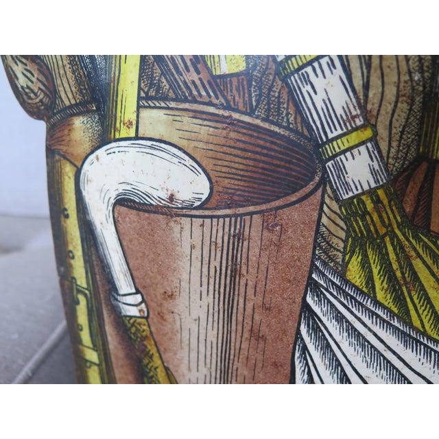 Piero Fornasetti Piero Fornasetti Umbrella Stand For Sale - Image 4 of 10