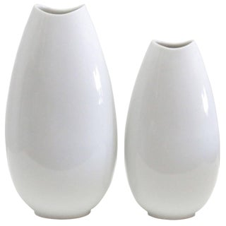 1970's Vintage Thomas Vases-A Pair For Sale