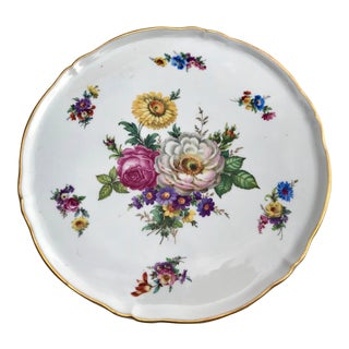 Collectible Vintage Limoges Hand-Painted Plate For Sale