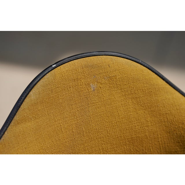 Mid 20th Century Mid Century Early Herman Miller Pac-1 Upholstered Swivel Chairs- a Pair For Sale - Image 5 of 13