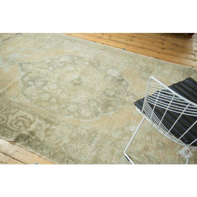 "Vintage Distressed Oushak Carpet - 5'8"" x 9'4"" - Image 4 of 10"