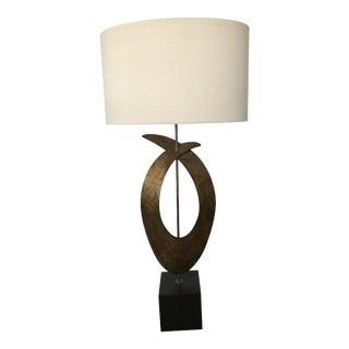 Porta Romana Sculptural Table Lamp For Sale