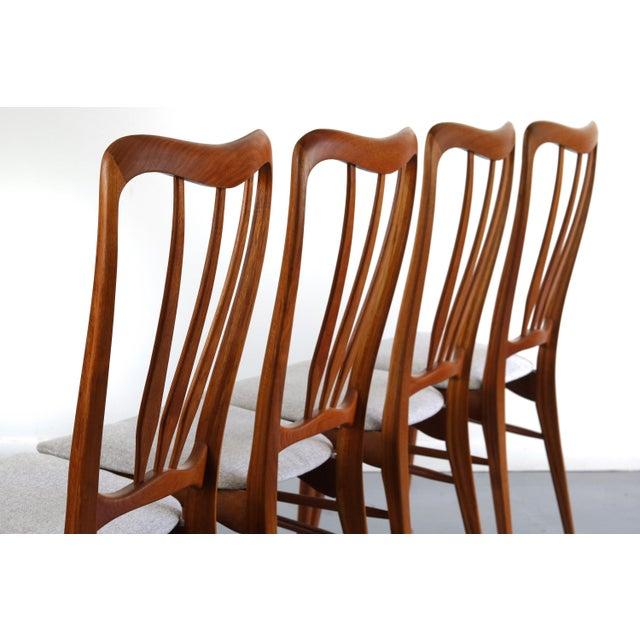 Koefoeds Hornslet Gorgeous Set of 4 Koefoeds Hornslet Ingrid Chairs For Sale - Image 4 of 7